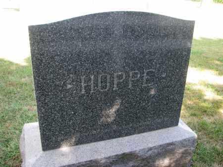 HOPPE, PLOT STONE - Knox County, Nebraska | PLOT STONE HOPPE - Nebraska Gravestone Photos