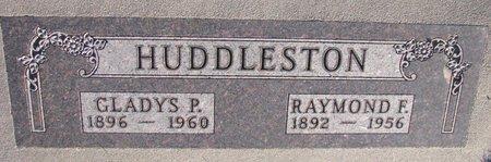 HUDDLESTON, RAYMOND F. - Knox County, Nebraska | RAYMOND F. HUDDLESTON - Nebraska Gravestone Photos