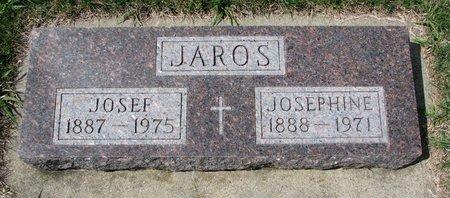 JAROS, JOSEPHINE - Knox County, Nebraska | JOSEPHINE JAROS - Nebraska Gravestone Photos