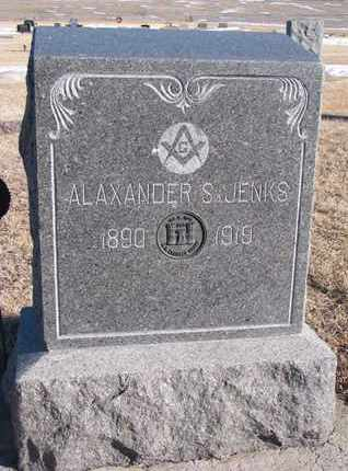 JENKS, ALAXANDER S. - Knox County, Nebraska | ALAXANDER S. JENKS - Nebraska Gravestone Photos