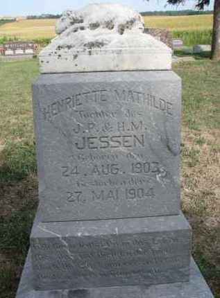 JESSEN, HENRIETTE MATHILDE - Knox County, Nebraska | HENRIETTE MATHILDE JESSEN - Nebraska Gravestone Photos