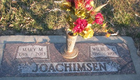 JOACHIMSEN, WILBUR C. - Knox County, Nebraska | WILBUR C. JOACHIMSEN - Nebraska Gravestone Photos