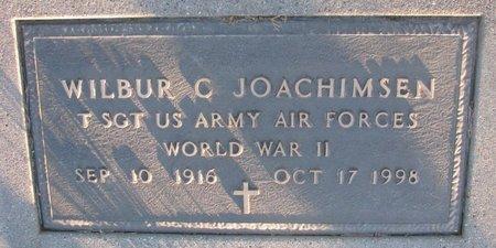JOACHIMSEN, WILBUR C. (MILITARY) - Knox County, Nebraska   WILBUR C. (MILITARY) JOACHIMSEN - Nebraska Gravestone Photos