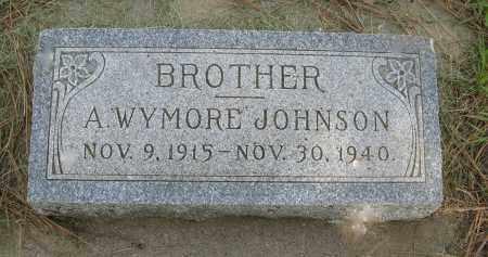 JOHNSON, A. WYMORE - Knox County, Nebraska | A. WYMORE JOHNSON - Nebraska Gravestone Photos