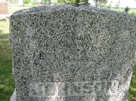 JOHNSON, AMANDA (CLOSEUP) - Knox County, Nebraska | AMANDA (CLOSEUP) JOHNSON - Nebraska Gravestone Photos