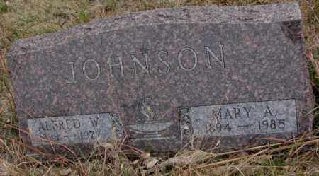 JOHNSON, MARY A. - Knox County, Nebraska | MARY A. JOHNSON - Nebraska Gravestone Photos