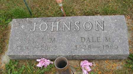 JOHNSON, DALE M. - Knox County, Nebraska | DALE M. JOHNSON - Nebraska Gravestone Photos