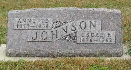 JOHNSON, ANNETTE - Knox County, Nebraska | ANNETTE JOHNSON - Nebraska Gravestone Photos
