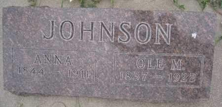 JOHNSON, OLE M. - Knox County, Nebraska | OLE M. JOHNSON - Nebraska Gravestone Photos