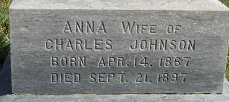 JOHNSON, ANNA (CLOSEUP) - Knox County, Nebraska | ANNA (CLOSEUP) JOHNSON - Nebraska Gravestone Photos