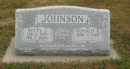 JOHNSON, BETTY J. - Knox County, Nebraska | BETTY J. JOHNSON - Nebraska Gravestone Photos