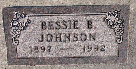 JOHNSON, BESSIE B. - Knox County, Nebraska | BESSIE B. JOHNSON - Nebraska Gravestone Photos