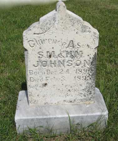 JOHNSON, CLARENCE A. - Knox County, Nebraska | CLARENCE A. JOHNSON - Nebraska Gravestone Photos