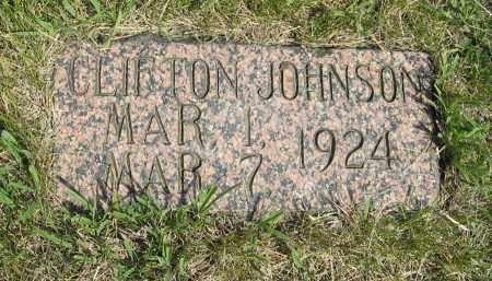 JOHNSON, CLIFTON - Knox County, Nebraska | CLIFTON JOHNSON - Nebraska Gravestone Photos