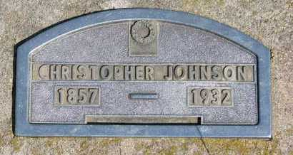 JOHNSON, CHRISTOPHER - Knox County, Nebraska | CHRISTOPHER JOHNSON - Nebraska Gravestone Photos