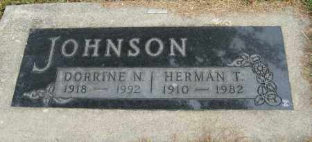 JOHNSON, HERMAN T. - Knox County, Nebraska | HERMAN T. JOHNSON - Nebraska Gravestone Photos