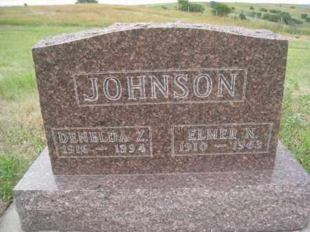 JOHNSON, DENELDA Z. - Knox County, Nebraska | DENELDA Z. JOHNSON - Nebraska Gravestone Photos