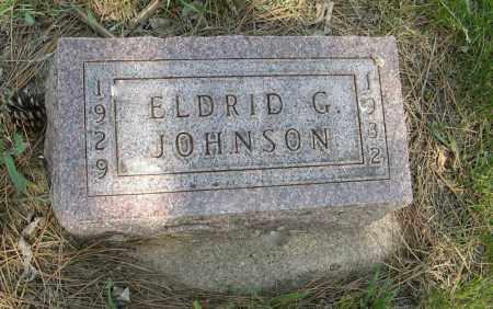 JOHNSON, ELDRID G. - Knox County, Nebraska | ELDRID G. JOHNSON - Nebraska Gravestone Photos