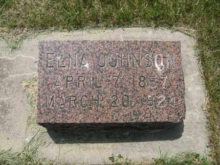 JOHNSON, ELNA - Knox County, Nebraska | ELNA JOHNSON - Nebraska Gravestone Photos