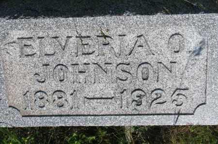 JOHNSON, ELVIRIA O. - Knox County, Nebraska   ELVIRIA O. JOHNSON - Nebraska Gravestone Photos