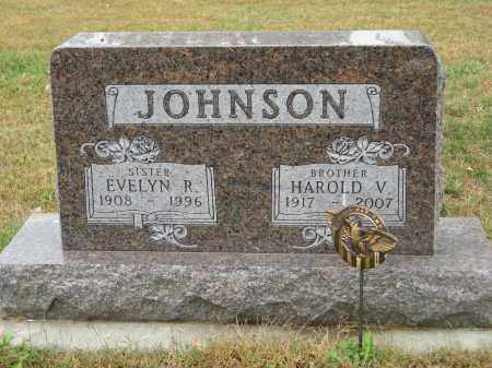 JOHNSON, EVELYN R. - Knox County, Nebraska | EVELYN R. JOHNSON - Nebraska Gravestone Photos