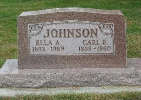 JOHNSON, CARL E. - Knox County, Nebraska | CARL E. JOHNSON - Nebraska Gravestone Photos