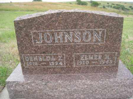 JOHNSON, ELMER N. - Knox County, Nebraska | ELMER N. JOHNSON - Nebraska Gravestone Photos