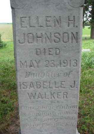 JOHNSON, ELLEN H. (CLOSEUP) - Knox County, Nebraska   ELLEN H. (CLOSEUP) JOHNSON - Nebraska Gravestone Photos