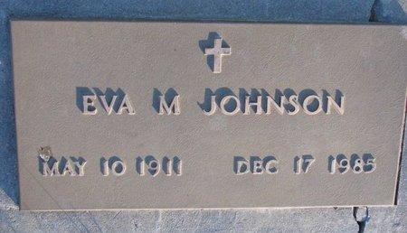 JOHNSON, EVA M. - Knox County, Nebraska   EVA M. JOHNSON - Nebraska Gravestone Photos