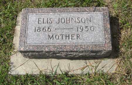 JOHNSON, ELIS - Knox County, Nebraska | ELIS JOHNSON - Nebraska Gravestone Photos