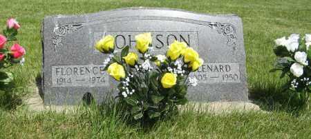 JOHNSON, FLORENCE - Knox County, Nebraska | FLORENCE JOHNSON - Nebraska Gravestone Photos