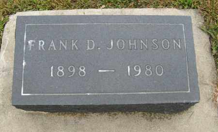 JOHNSON, FRANK D. - Knox County, Nebraska | FRANK D. JOHNSON - Nebraska Gravestone Photos