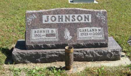 JOHNSON, GARLAND M. - Knox County, Nebraska   GARLAND M. JOHNSON - Nebraska Gravestone Photos