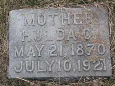 JOHNSON, HULDA C. - Knox County, Nebraska | HULDA C. JOHNSON - Nebraska Gravestone Photos
