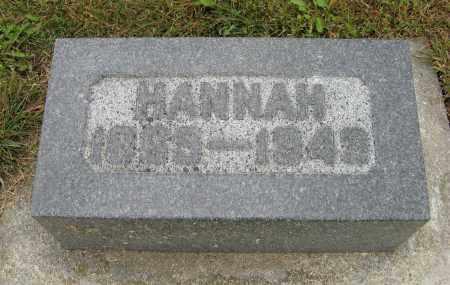 JOHNSON, HANNAH - Knox County, Nebraska | HANNAH JOHNSON - Nebraska Gravestone Photos