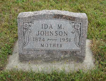 JOHNSON, IDA M. - Knox County, Nebraska | IDA M. JOHNSON - Nebraska Gravestone Photos
