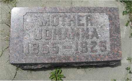 JOHNSON, JOHANNA - Knox County, Nebraska | JOHANNA JOHNSON - Nebraska Gravestone Photos