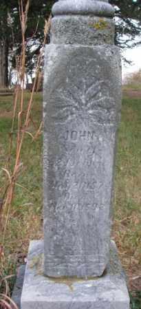JOHNSON, JOHN - Knox County, Nebraska | JOHN JOHNSON - Nebraska Gravestone Photos