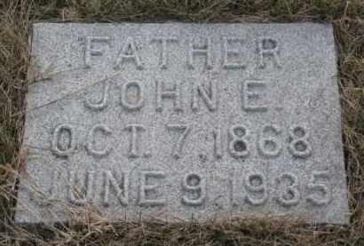 JOHNSON, JOHN E. - Knox County, Nebraska | JOHN E. JOHNSON - Nebraska Gravestone Photos