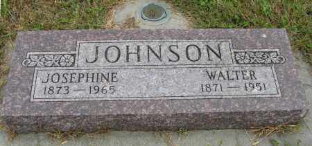 JOHNSON, WALTER - Knox County, Nebraska | WALTER JOHNSON - Nebraska Gravestone Photos