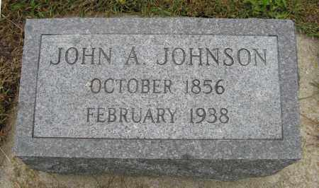 JOHNSON, JOHN A. - Knox County, Nebraska | JOHN A. JOHNSON - Nebraska Gravestone Photos