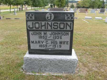JOHNSON, MARY C. - Knox County, Nebraska | MARY C. JOHNSON - Nebraska Gravestone Photos