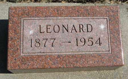 JOHNSON, LEONARD - Knox County, Nebraska | LEONARD JOHNSON - Nebraska Gravestone Photos