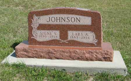 JOHNSON, LARS A. - Knox County, Nebraska | LARS A. JOHNSON - Nebraska Gravestone Photos