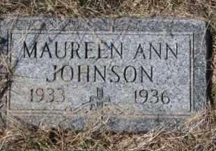 JOHNSON, MAUREEN ANN - Knox County, Nebraska | MAUREEN ANN JOHNSON - Nebraska Gravestone Photos