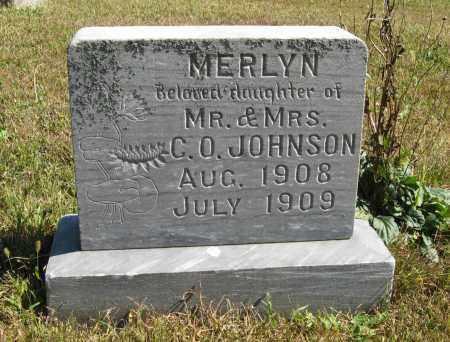 JOHNSON, MERLYN - Knox County, Nebraska | MERLYN JOHNSON - Nebraska Gravestone Photos