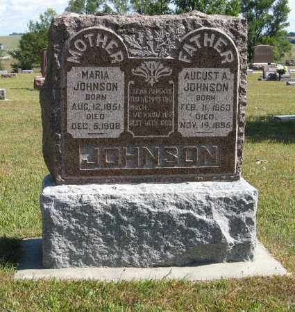 JOHNSON, MARIA - Knox County, Nebraska | MARIA JOHNSON - Nebraska Gravestone Photos