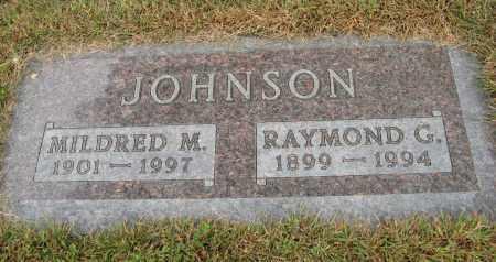 JOHNSON, MILDRED M. - Knox County, Nebraska   MILDRED M. JOHNSON - Nebraska Gravestone Photos