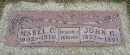JOHNSON, JOHN H. - Knox County, Nebraska   JOHN H. JOHNSON - Nebraska Gravestone Photos