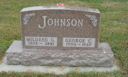 JOHNSON, GEORGE C. - Knox County, Nebraska | GEORGE C. JOHNSON - Nebraska Gravestone Photos